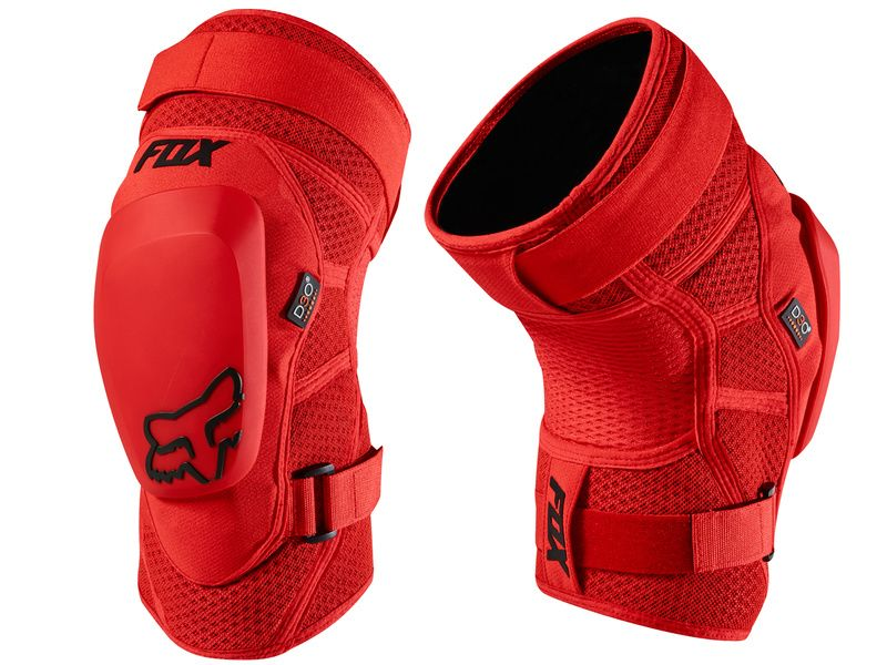 Fox Genouillères Launch Pro D3O Rouge