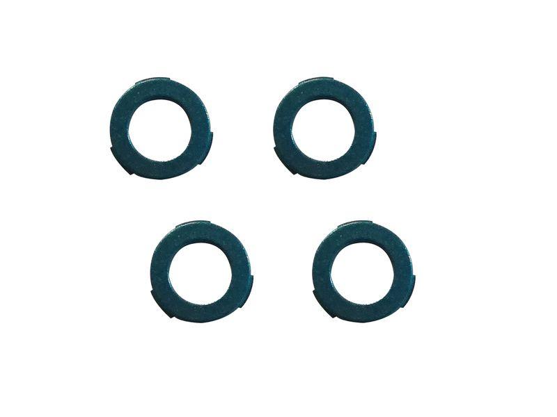 Magura Kit d'oeillets pour étrier 4 pistons MT5/MT7 et MT Trail (avant) - Bleu Métal