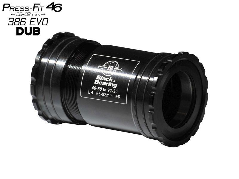 Black Bearing Boitier de pédalier PF46 68/92 B5 pour axe DUB (28,99 mm)