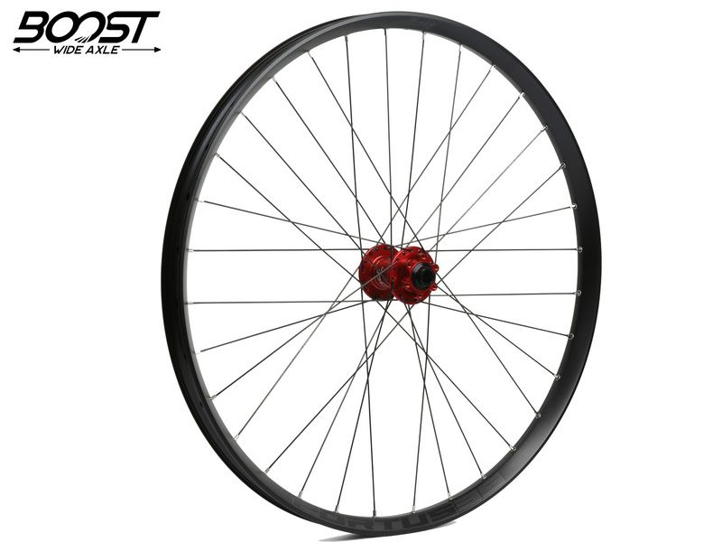 Hope Roue avant Fortus 35 Rouge 27,5'' Boost 2020