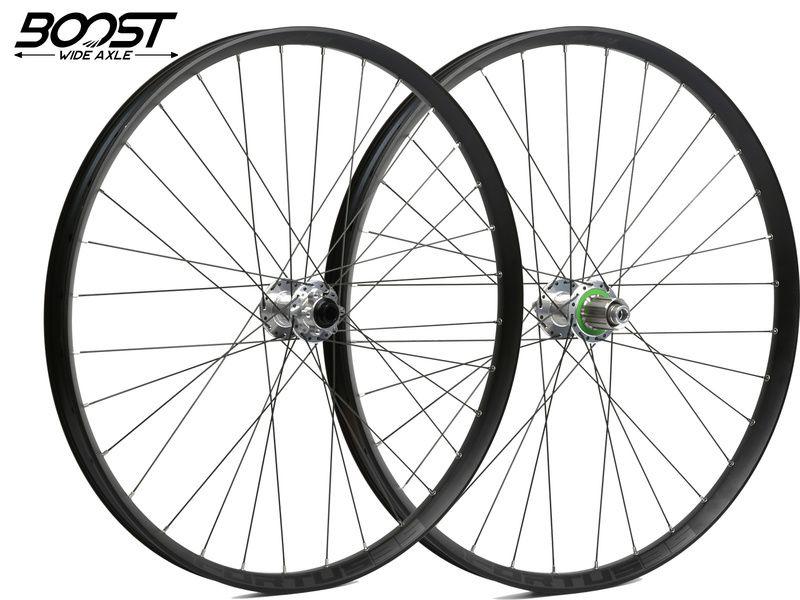 Hope Paire de roues Fortus 35 Argent 27,5'' Boost 2020