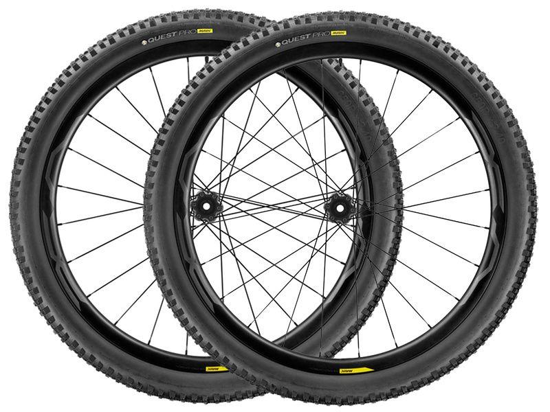 Mavic Paire de roues XA Pro Carbone WTS 29''