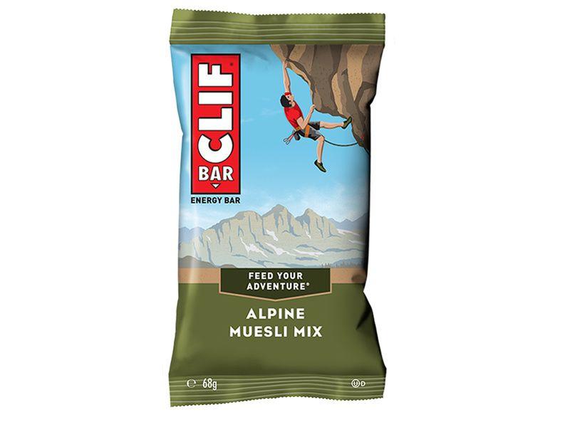 Clif Bar Barre énergétique goût Muesli, Cacahuète, Raisins secs
