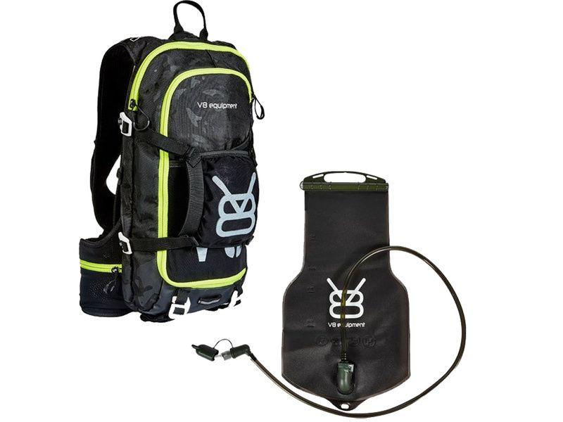 V8 Equipment Sac hydratation FRD 11.1 avec poche Elite 1,5/3L - Camo