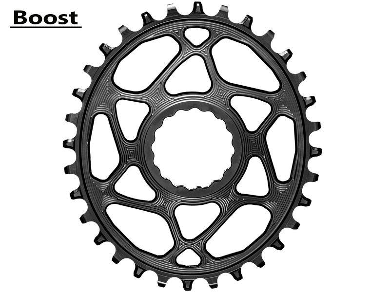 Absolute Black Plateau Oval Race Face Boost pour chaine Shimano HG+ 12 V Noir 2020