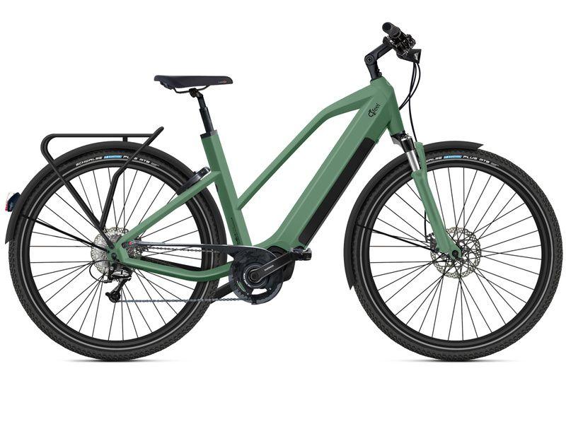 O2feel Vélo électrique Iswan D10 Explorer Vert - E6100 432Wh 2020