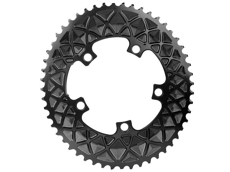 Absolute Black Plateau Ovale Premium - 5 trous 110 mm (non Sram) - Noir 2020