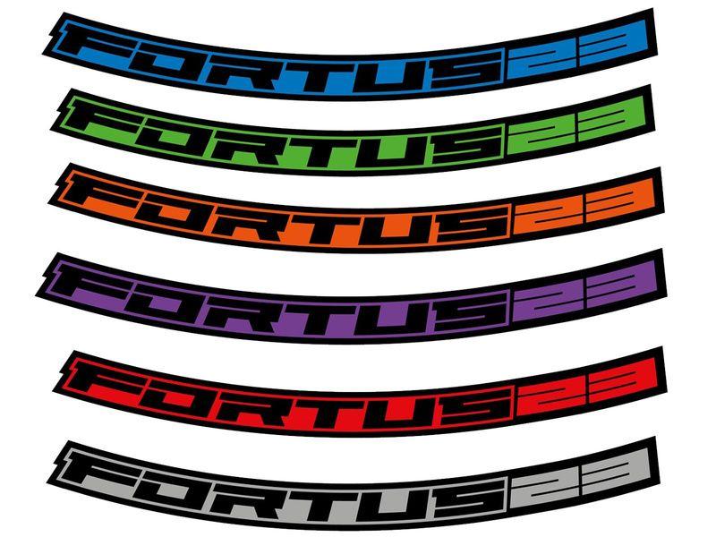 "Hope Kit Stickers pour jantes Fortus 23 – 29"" 2020"