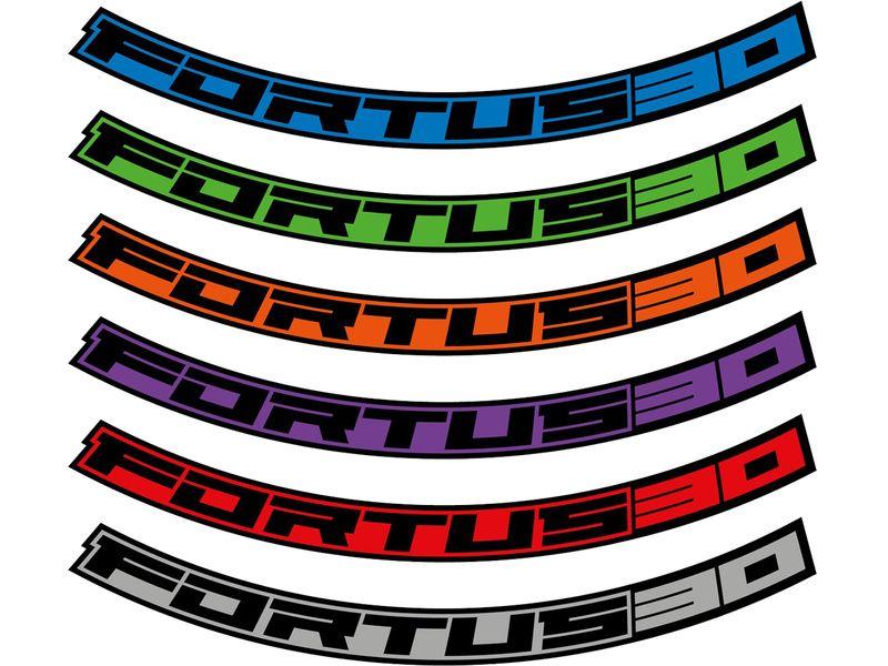 "Hope Kit Stickers pour jantes Fortus 30 – 27.5"" 2020"