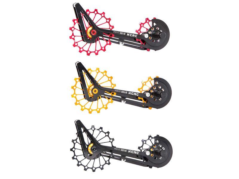 KCNC Jockey Wheel System Céramique pour Shimano 9100 et 8000 11 vitesses 2020
