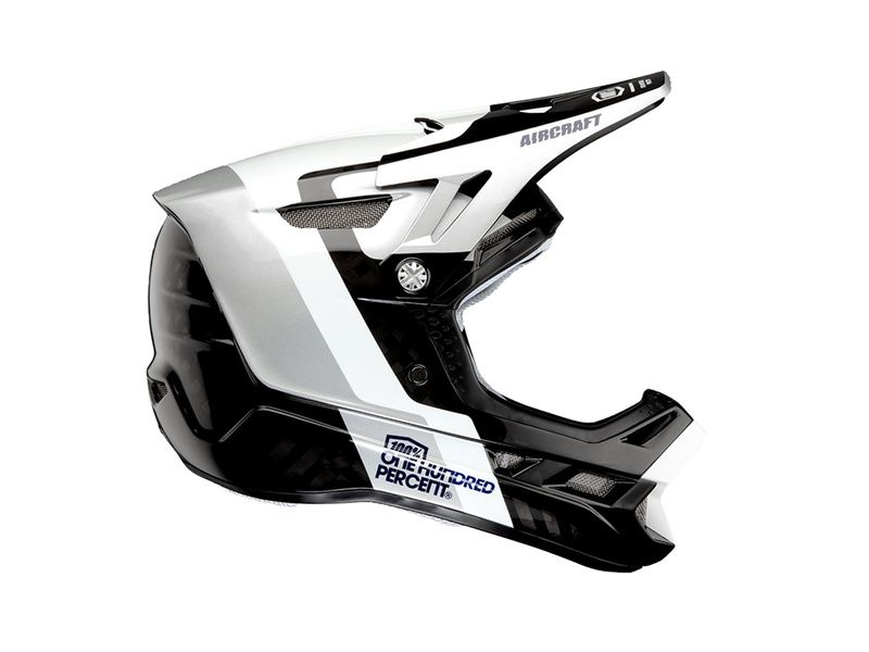 100% Casque Aircraft Carbone Atmos 2020