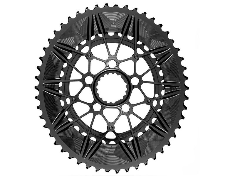 Absolute Black Système double plateau ovale Direct Mount Cannondale 2020