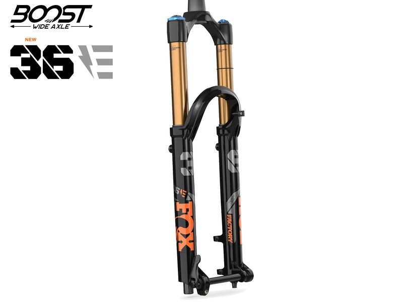 "Fox Racing Shox Fourche 36 Float E-Bike 27.5"" Factory Grip 2 Noir Boost 2021"