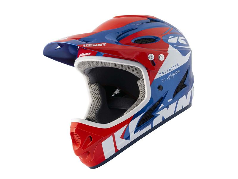 Kenny Casque Down hill Graphic Red Blue – Taille M 2021