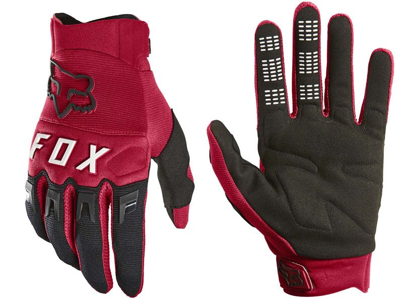 Fox Gants Dirtpaw Rouge 2020