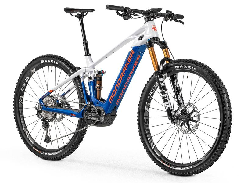 "Mondraker VTTAE Crafty Carbon RR 29"" Bleu/Blanc/Orange 2021"