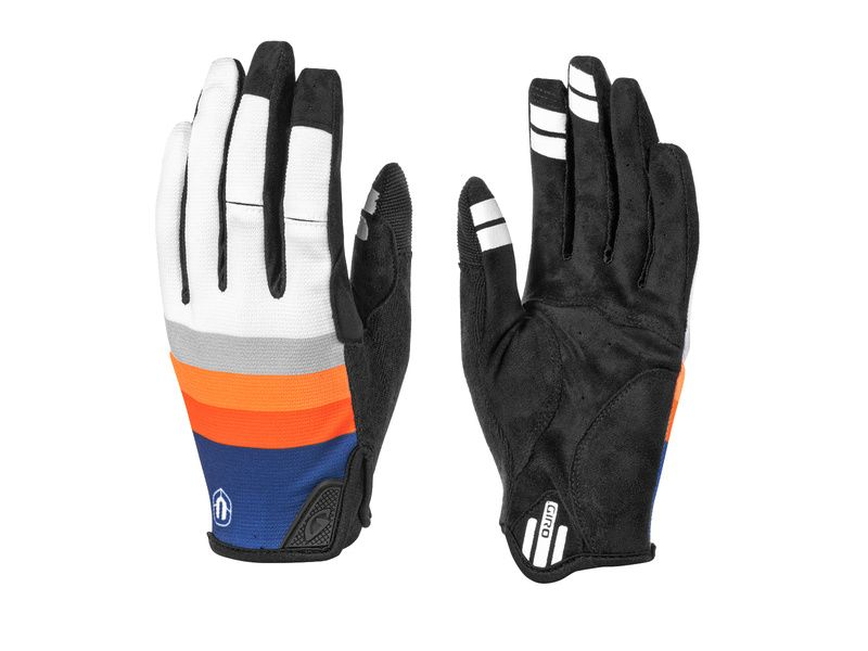 Mondraker Gants DND Orange Gris 2021