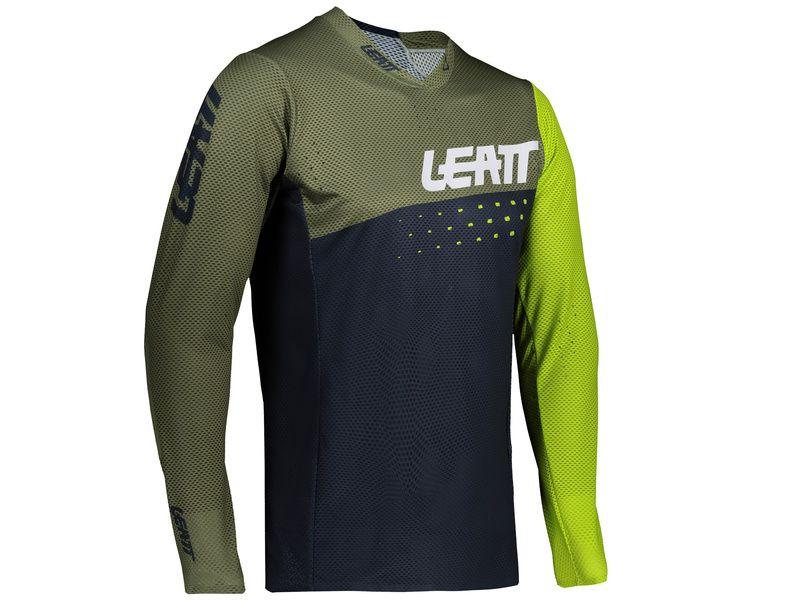 Leatt Maillot MTB 4.0 Ultraweld Vert Cactus 2021