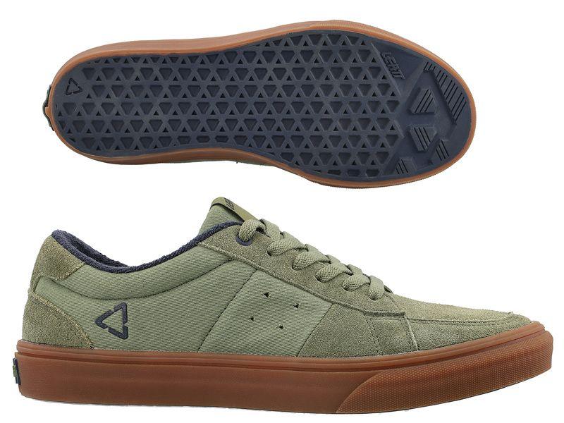 Leatt Chaussures 1.0 Flat Vert Cactus 2021