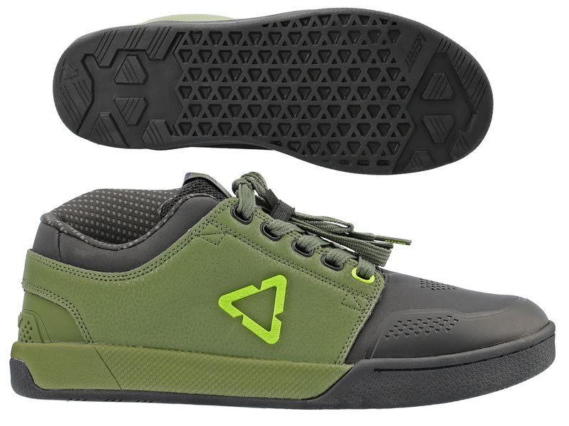 Leatt Chaussures Flat 3.0 Vert Cactus 2021