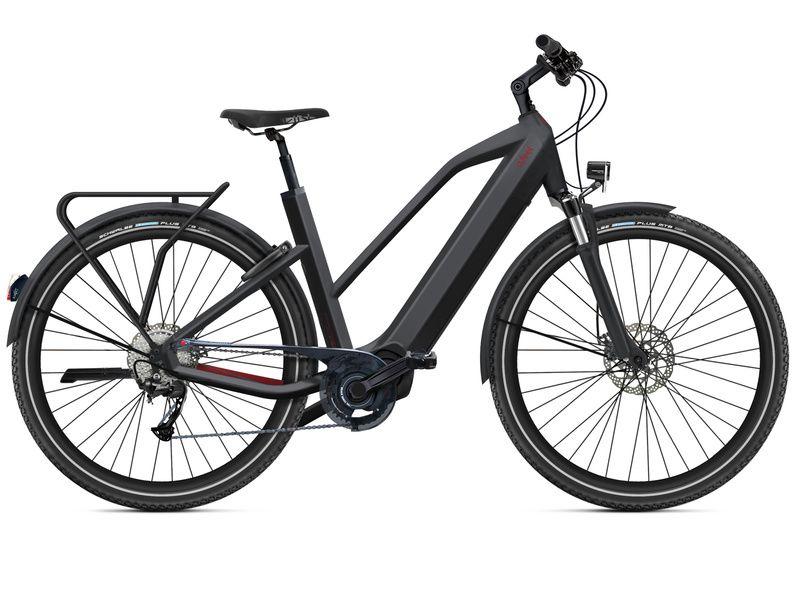 O2feel Vélo électrique Iswan Adventure Boost 6.1 Mid Noir - E6100 2021
