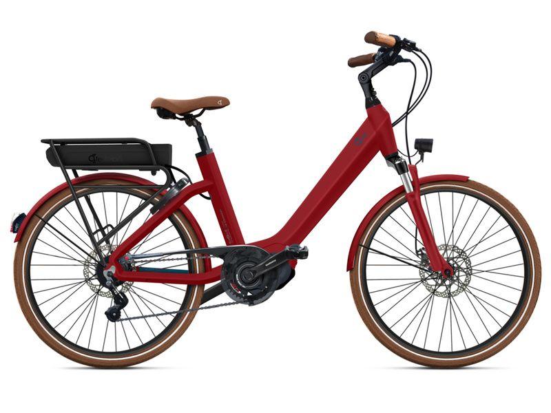 """O2feel Vélo électrique Swan Little N8 Rouge - E5000 400 Wh - Roues 24"""" 2020"""