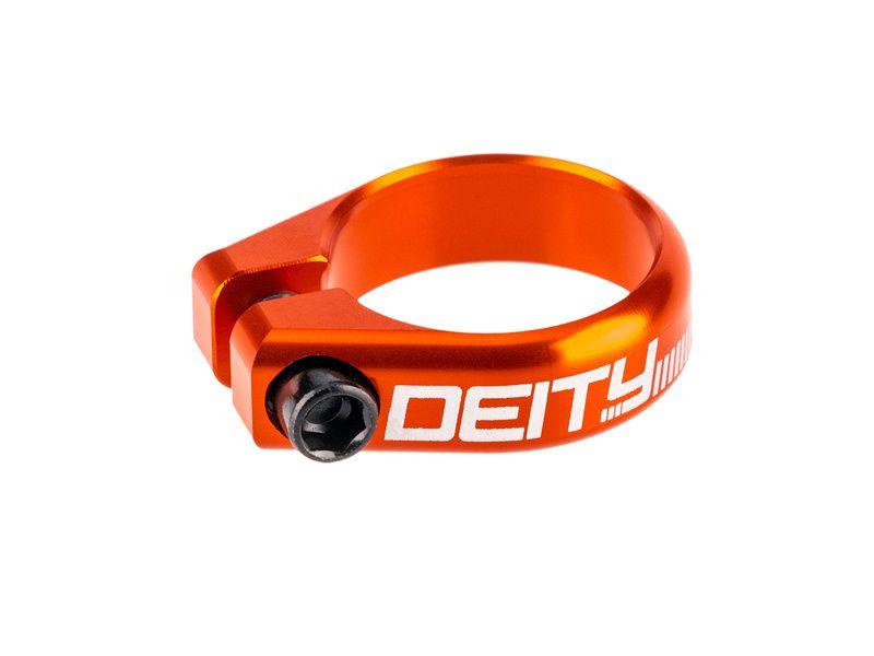 Deity Collier de selle Circuit - Orange