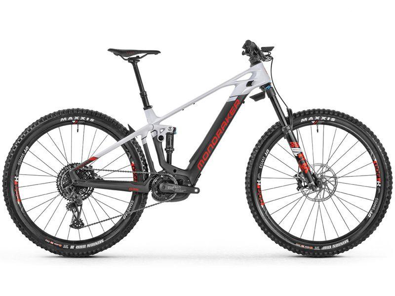 Mondraker VTTAE Crafty Carbon R Mind 29'' Noir/Blanc/Rouge - Taille M 2021
