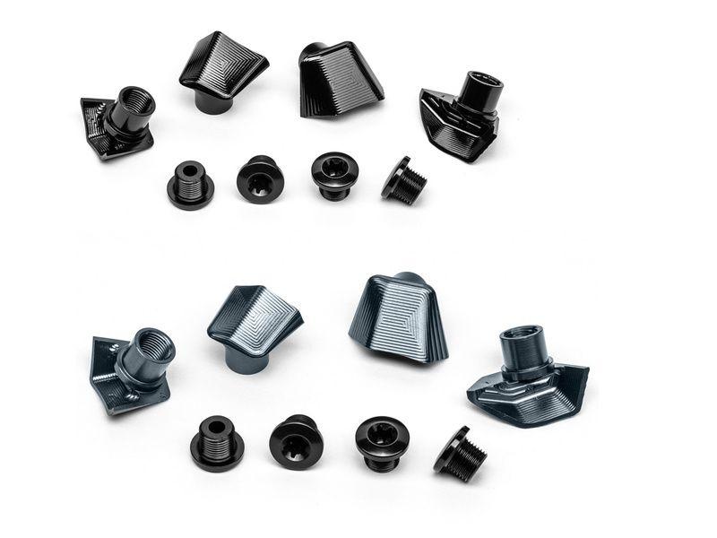 Absolute Black Kit de 4 vis + caches pour pédaliers Dura-Ace 9100 et 9150 2020