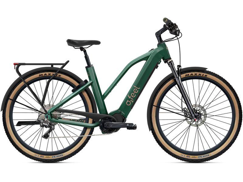 O2feel Vélo électrique Vern Adventure Power 8.1 Mid Vert Emeraude - EP8 2021