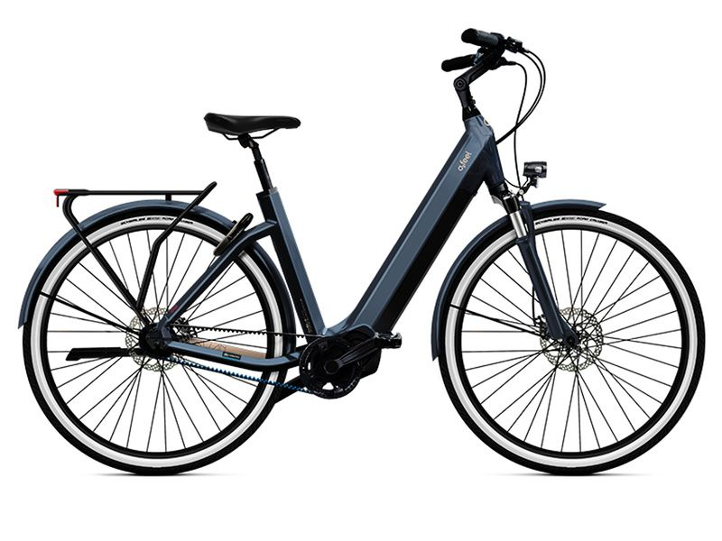 O2feel Vélo électrique ISwan City Boost 8.1 Gris Anthracite - E6100 2021