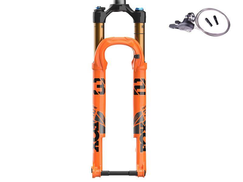 "Fox Racing Shox Fourche 32 Float SC 29"" Factory FIT4 Remote - Kabolt 15x110 Boost - Orange 2022"