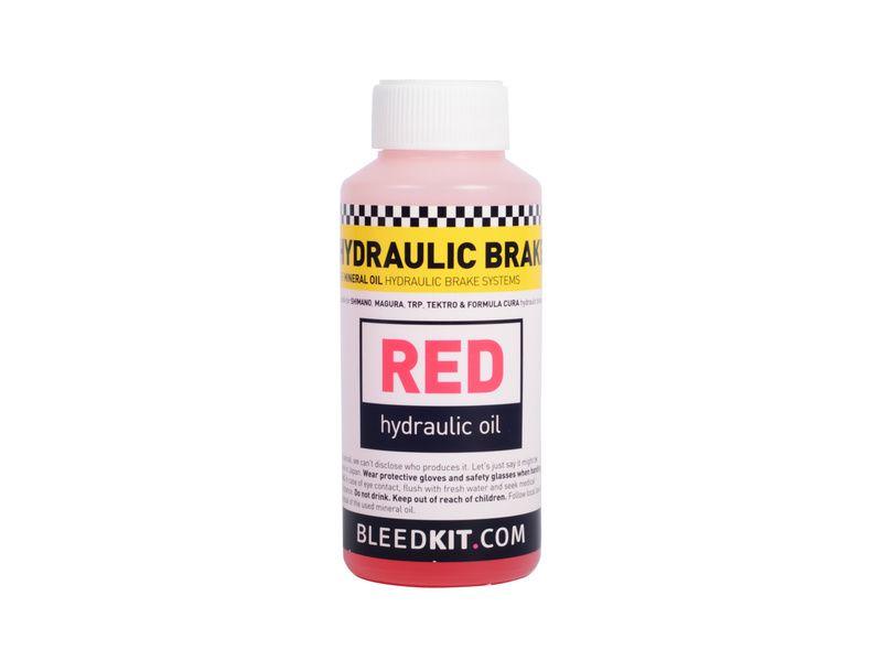 Bleedkit Huile minérale Red pour freins hydrauliques - 100 ml